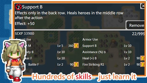 Unlimited Skills Hero - Single Role Play RPG screenshots 3
