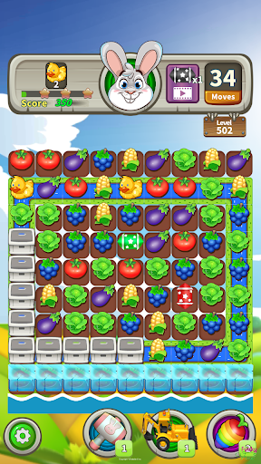 Farm Raid : Cartoon Match 3 Puzzle  screenshots 8