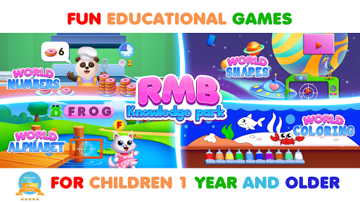 RMB GAMES: Kindergarten learning games & learn abc APK MOD Download 1