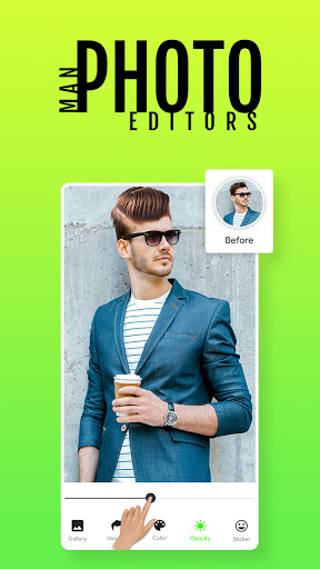 Man Photo Editor & Men HairStyle, Suits  screenshots 5