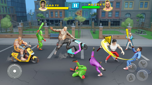 Beat Em Up Fighting Games: Kung Fu Karate Game 3.5 screenshots 1