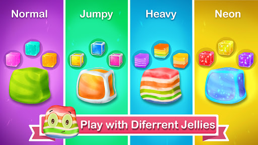 Jelly in Jar 3D - Tap & Jump Survival game 0.0.45 screenshots 1