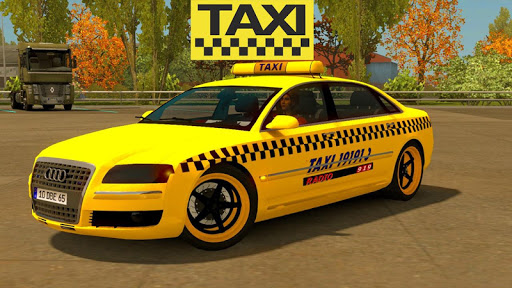 Real City Taxi Simulator 2021 : Taxi Drivers screenshots 4
