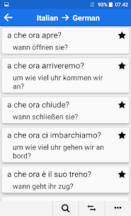 Italian – German Mod Apk: Dictionary & Education (Premium Features Unlocked) 3