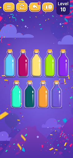 Perfect Pouring - Color Sorting Puzzle Game android2mod screenshots 2