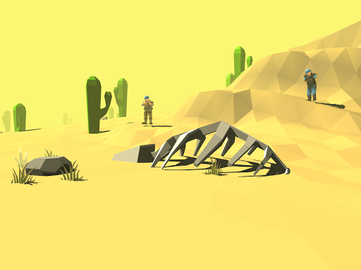 Blocky Apex Strike - Desert Gun Tale screenshots 6