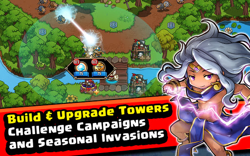 Crazy Defense Heroes: Tower Defense Strategy Game 2.4.0 screenshots 18