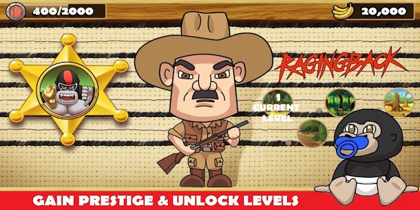 Ragingback – Gorilla Fun Game & Animal Rescue Hack for Android and iOS 4