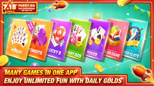Pusoy Go-Free Tongits, Color Game, 13 Cards, Poker android2mod screenshots 5