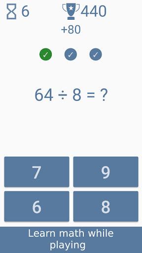 Math games - Brain Training screenshots 1