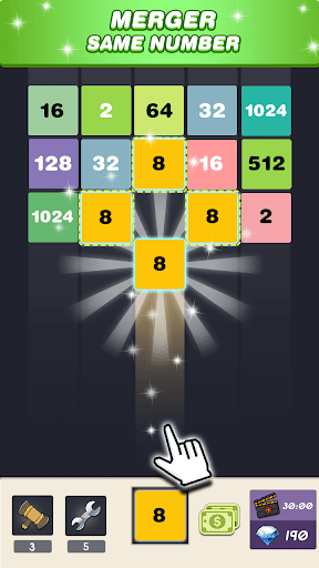 Merge 2048 - Number Puzzle  screenshots 1
