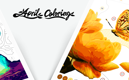 April Coloring - Color by Number & Coloring Games screenshots 12