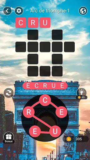 Voyage des Mots -Jeu de Mots Croisu00e9s avec Carte 1.301 de.gamequotes.net 4