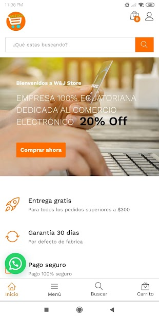 W&J Store Tienda Online screenshot 8
