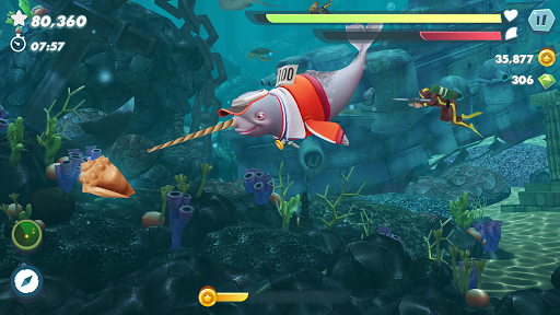 Hungry Shark Evolution screenshots apk mod 5