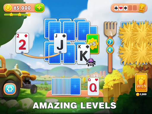 Solitaire Farm: Classic Tripeaks Card Games  screenshots 16