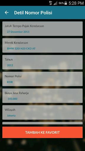 JakTor (Cek Nomor Polisi) 1.1 Screenshots 3