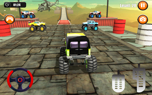Ultimate Monster Truck: 3D Stunt Racing Simulator apkpoly screenshots 10