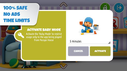 Pocoyo House: best videos and apps for kids apkdebit screenshots 5
