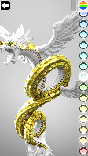 ColorMinis 3D Art Coloring & Painting Design Game  screenshots 3