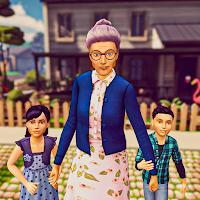 Super Granny Simulator- Virtual Happy Family Games