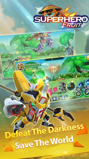 Superhero Fruit: Robot Wars - Future Battles android2mod screenshots 8
