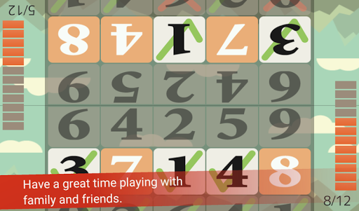 Tap the Numbers (Calculation, Brain training) 3.3.2 screenshots 3