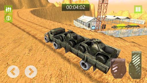 military truck simulator game 3d: cargo transport screenshot 2