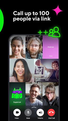 ICQ New Messenger App: Video Calls & Chat Rooms 9.21(824744) screenshots 4