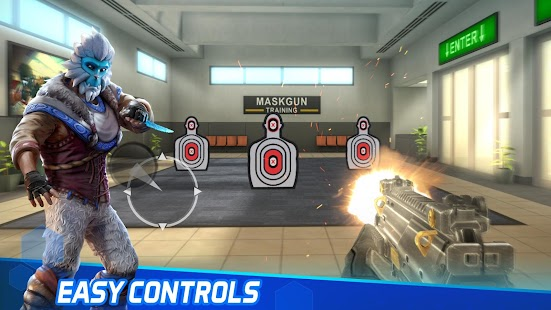 MaskGun Multiplayer FPS - Free Shooter Game Screenshot