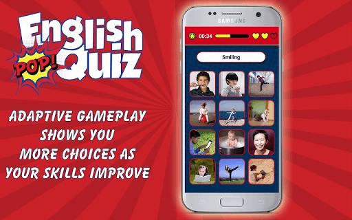 english vocabulary pop quiz screenshot 2