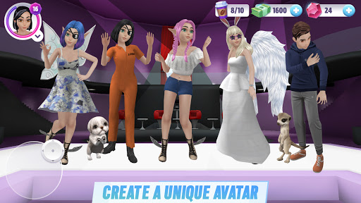 Virtual Sim Story: 3D Dream Home & Life screenshots 23