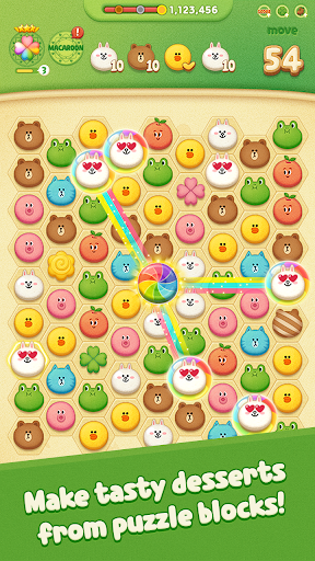 LINE POPChocolat modiapk screenshots 1