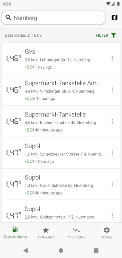 Gas Prices (Germany) 5.1.0 Screenshots 1