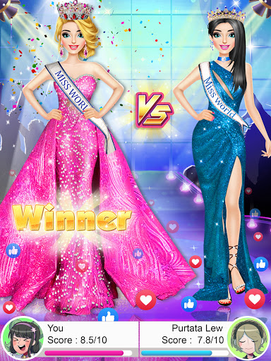 Fashion Girls Makeover Stylist - Dress up Games 0.7 screenshots 13