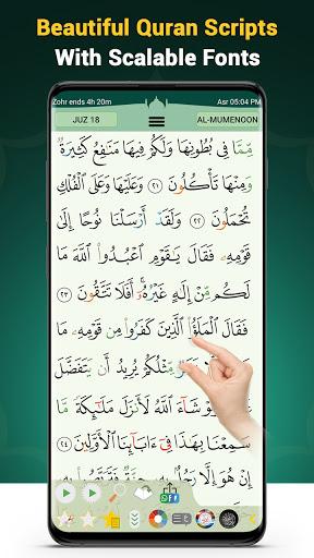 Download APK: Quran Majeed – القران الكريم: Prayer Times & Athan v5.4.7 [Premium]