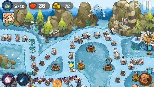 Tower Defense Realm King: Epic TD Strategy Element Apkfinish screenshots 16