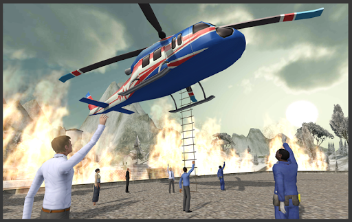 Helicopter Hill Rescue  screenshots 1