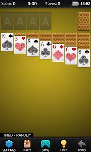 Solitaire 3.0 screenshots 4