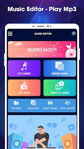 Editor de música: cortador de mp3, mezcla de audio. 1