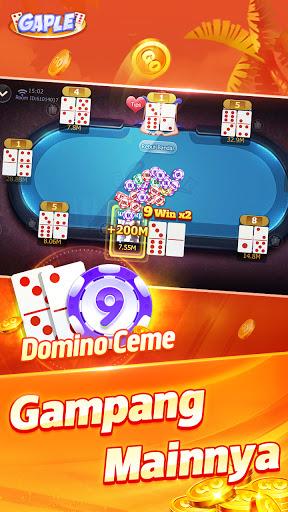POP Gaple - Domino gaple Ceme BandarQQ Solt oline 1.14.0 screenshots 4