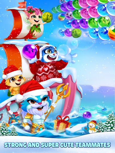Cat Pop Island: Bubble Shooter Adventure Apkfinish screenshots 18
