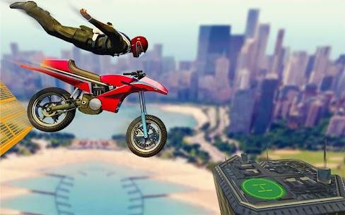 Bisiklet İmkansız Raylar Yarış: Motosiklet Stunts Full Apk İndir 6