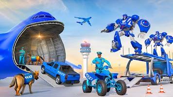 Police Robot Dog Plane Car Transport Truck ATV Sim