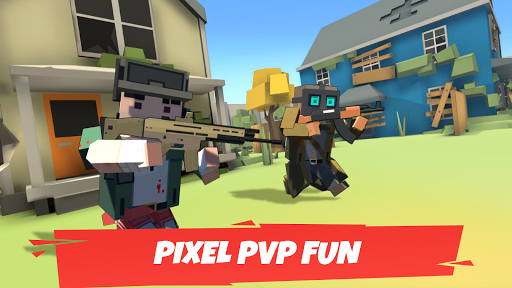 Battle Gun 3D - Pixel Block Fight Online PVP FPS apkpoly screenshots 3