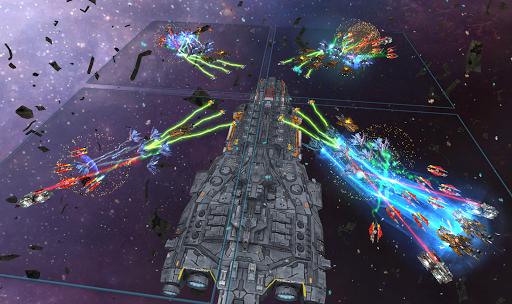 Space Ships WAR: Unique TD Battles apkpoly screenshots 3
