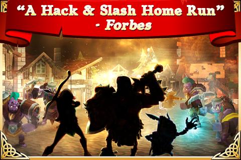 Arcane Legends MMO-Action RPG  screenshots 4