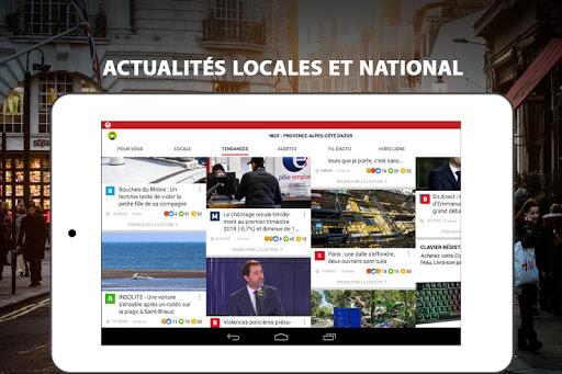 Alertes info: Actualitu00e9 locale et alerte d'urgence 10.7.0 Screenshots 10