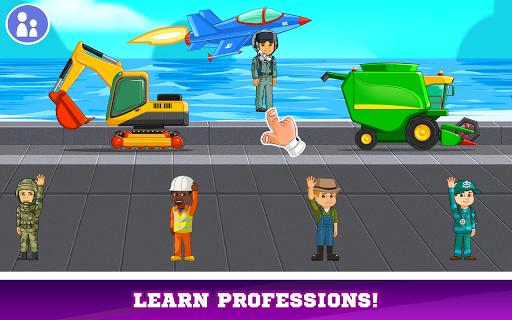 Kids Cars Games! Build a car and truck wash!  screenshots 21