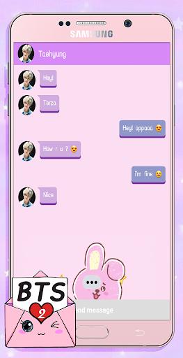 BTS Messenger! Chat Simulator 2  screenshots 2